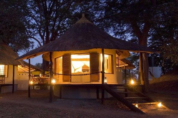Sambia – Nsefu Camp chalets